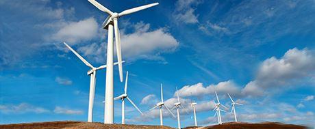 wind energy banner