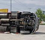 Commercial vehicle rollover