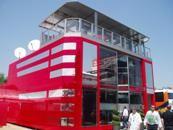 Formula 1 hospitality suite