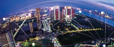 Smart city connected by autonomous activities